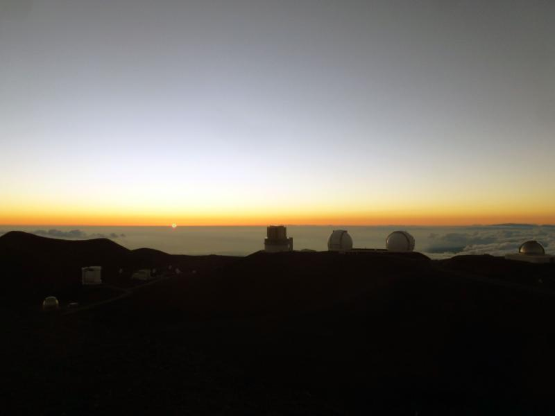 See the 'Green Flash' from the top of Mauna Kea.