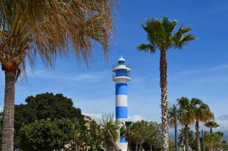 The lighthouse in Torre del Mar