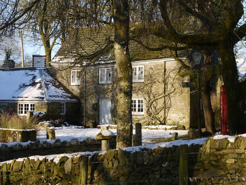 Manor Cottage in winter