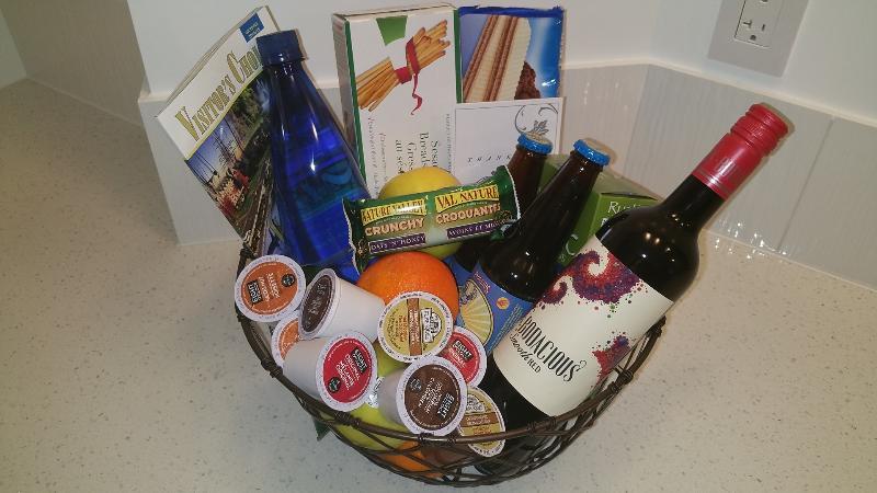 Welcome Gift Basket