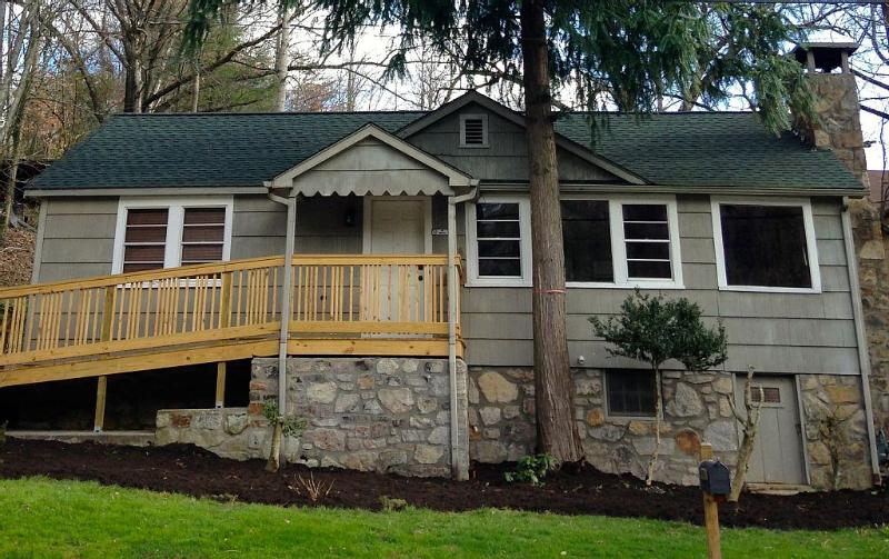 An original Gatlinburg home with a lovingly restored interior.