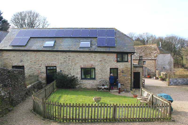 New solar panals.  Along with the biomass boiler we are nearly 100% eco friendly