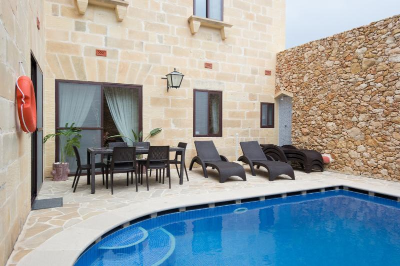 Dine, Relax, Sunbathe on our beautiful, private and tranquil pool terrace with shower and bbq