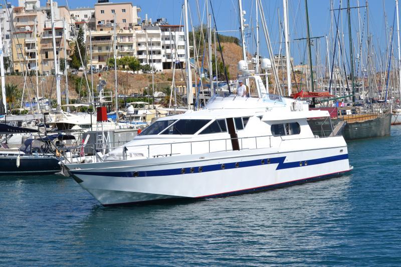 M/Y Uzuri, holiday rental in Agios Nikolaos