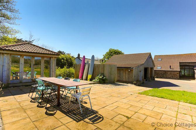 GEORGEHAM THORNCLOSE BARN | 4 Bedrooms, holiday rental in Braunton
