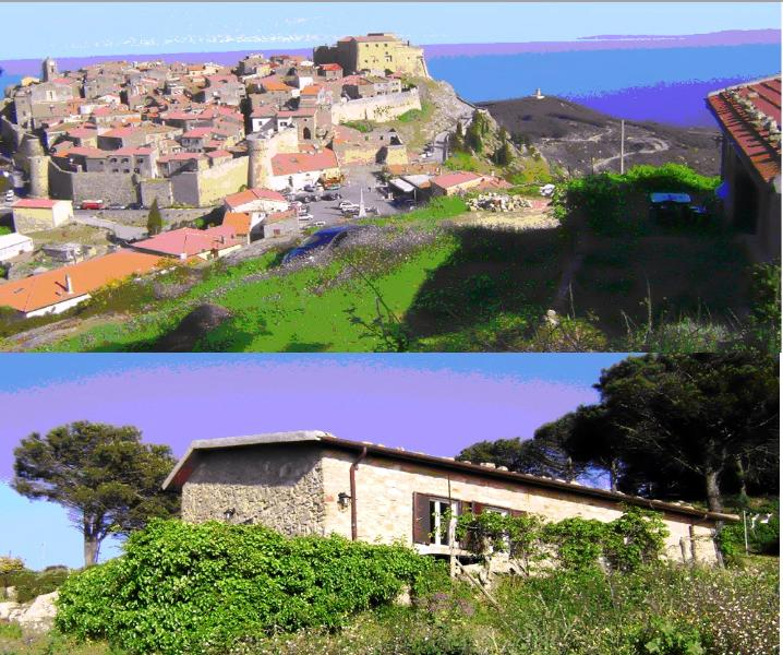 Casa e panorama dalla casa - House and view from the house