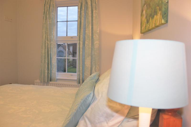 Bedroom no 2 - the views of the Shakespeare's Birthplace and gardens can be admired from your bed