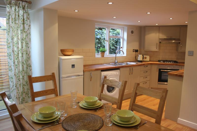 beautiful, modern kitchen with quality appliance