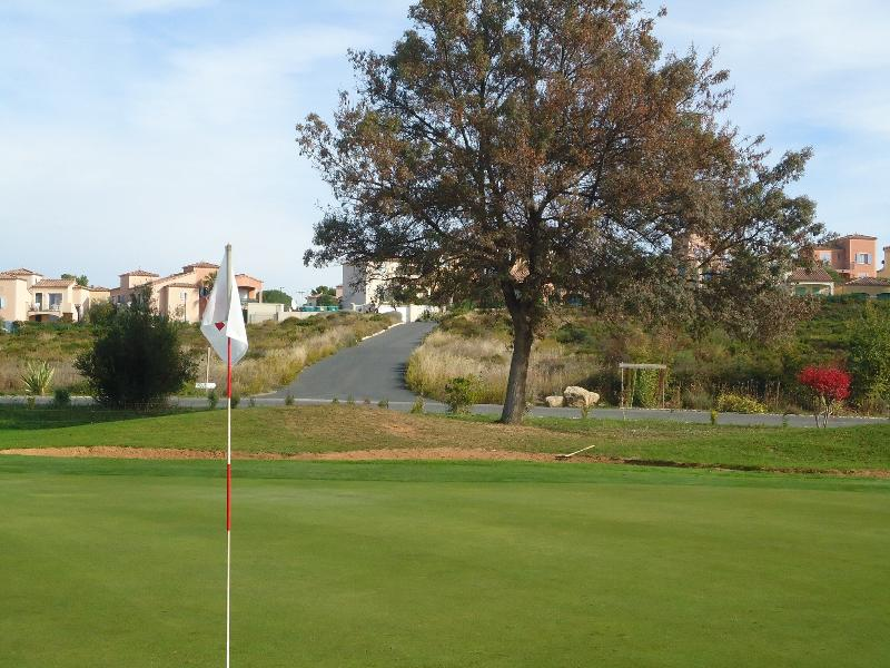 View of the domaine from the 18 hole golf St Thomas