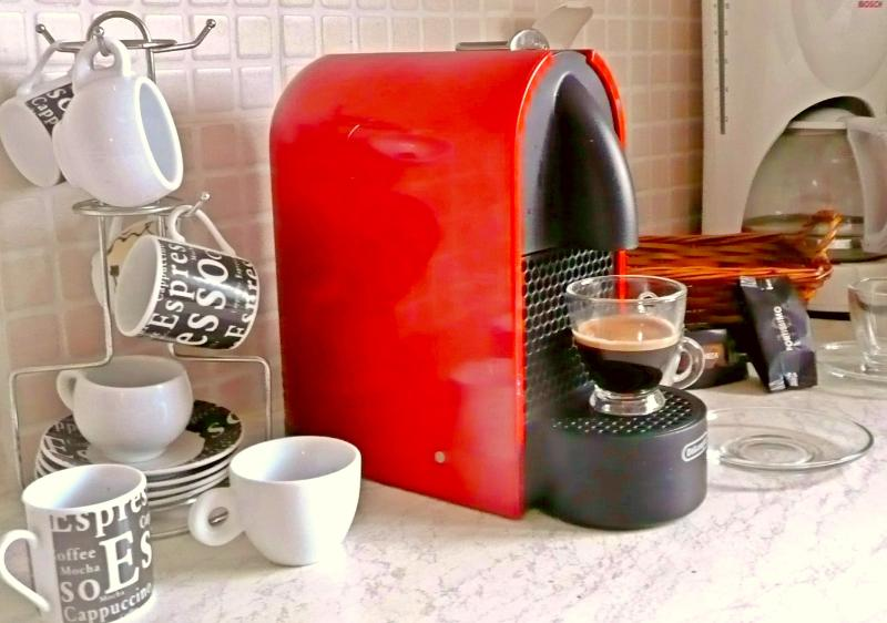 Nesspresso coffee machine