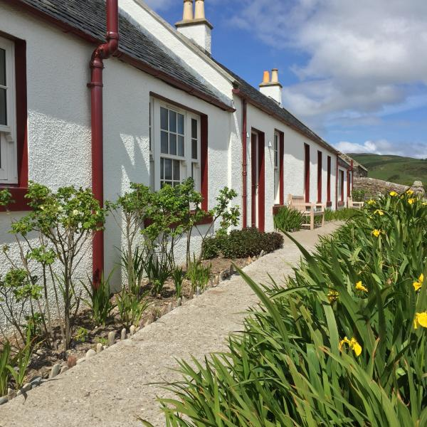 Shore Cottage, the private beach, hideaway retreat on the West Coast of Scotland, vacation rental in Tayinloan