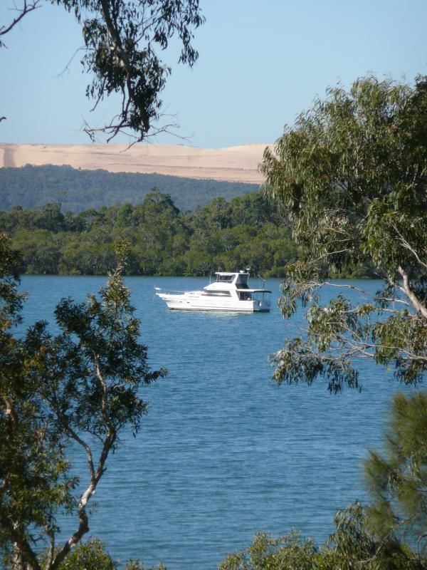 Our Bay is a favourite mooring for Boaties.