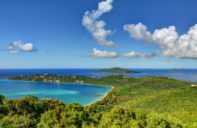 Exclusive Peterborg Peninsula and Megan's Bay with Hans Lallik Island in the background