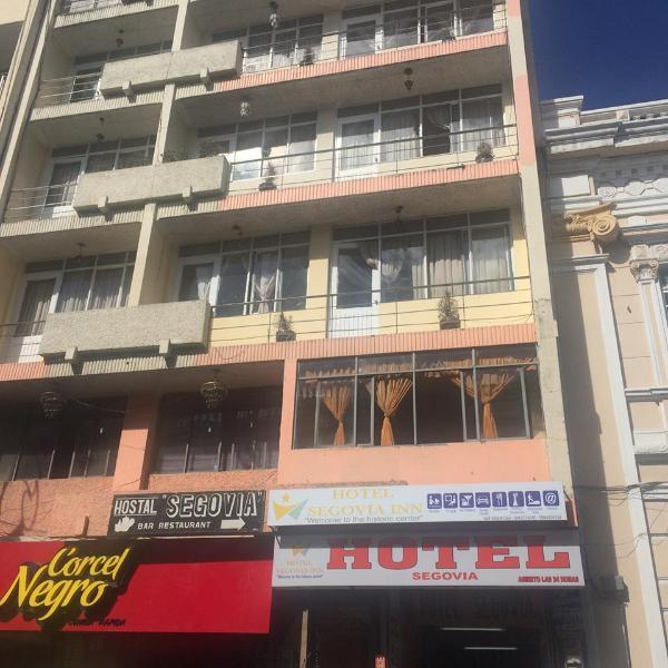 Hotel Segovia en Riobamba, location de vacances à Cacha