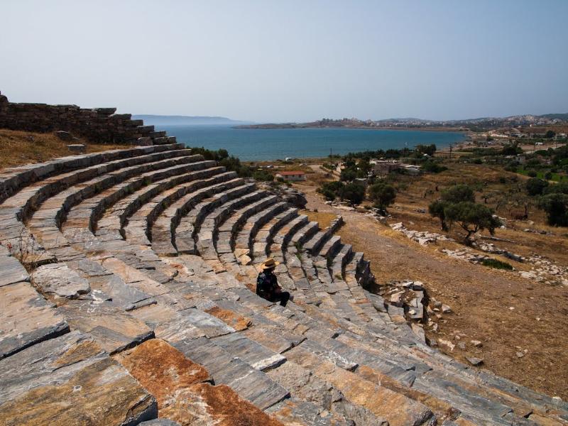 Ancient theatre at Lavrio
