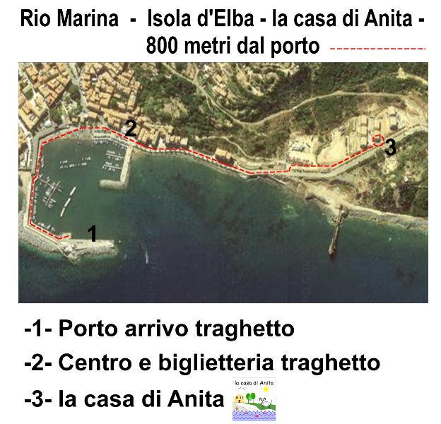 LA CASA DI ANITA, casa vacanza a Rio Marina
