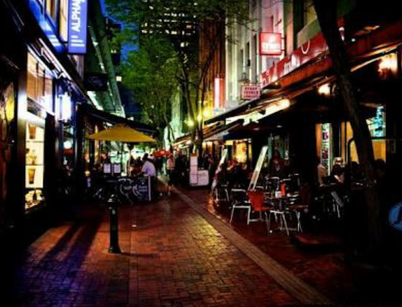 By day or by night Hardware Lane is simply amazing!
