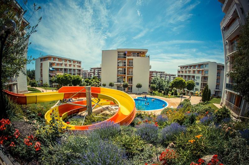 Visit Sunny Beach Imperial 2-bedroom apartments, alquiler vacacional en Elenite