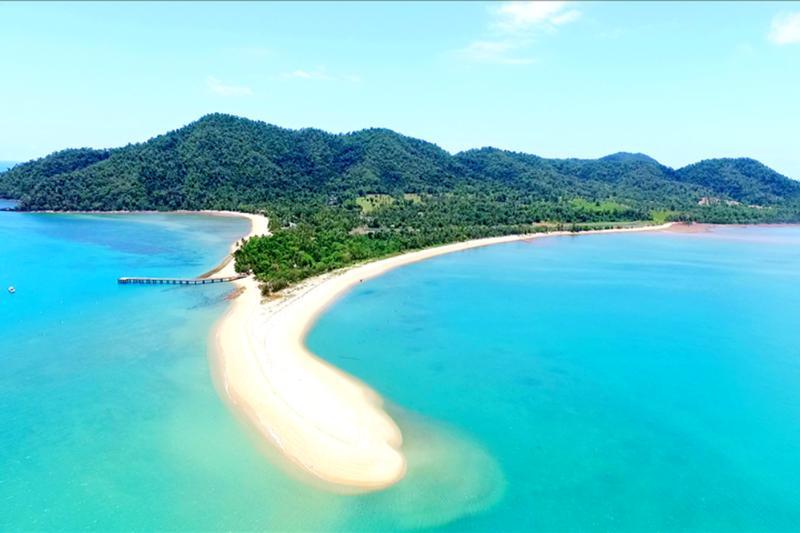 Mojito - Prendre le bateau-taxi à l'île Trempez pour la journée