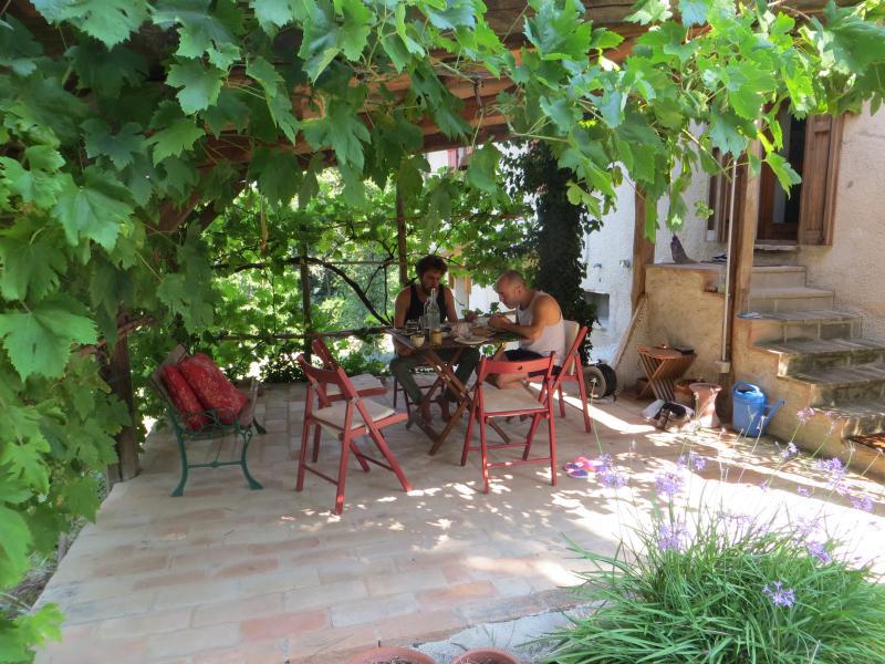 terrace & pergolla