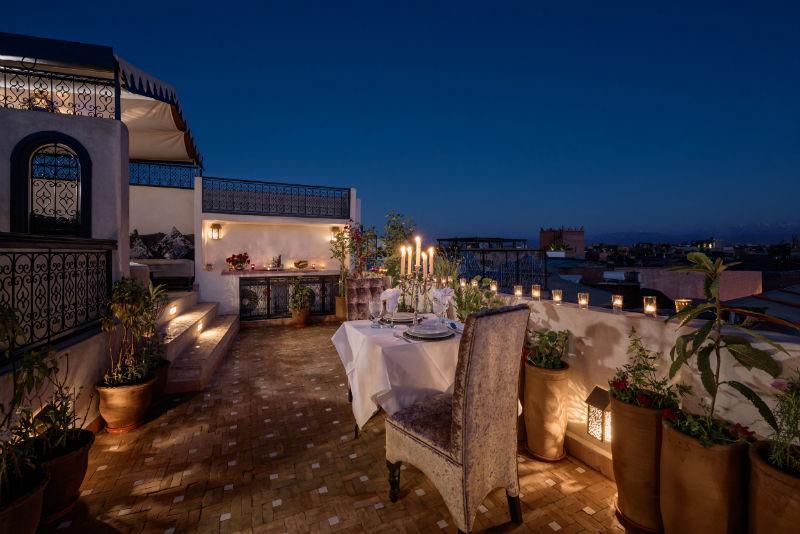 Atmospheric roof terrace