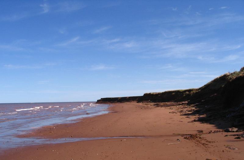 Beach view from Ebbsfleet Beach House Property