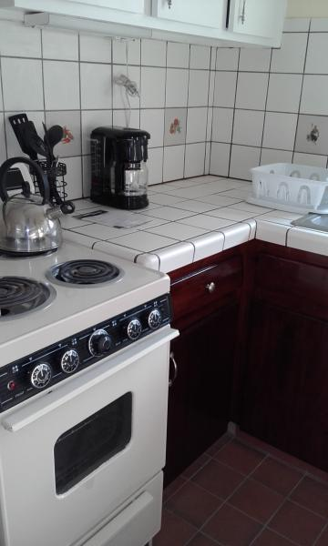 Fully functioning kitchen!