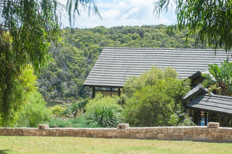 Hidden in an exclusive valley your view includes the river, ocean and Leeuwin National Park