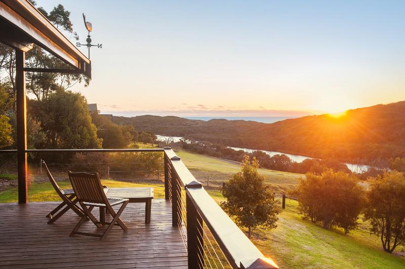 Relax and enjoy the sunset from the balcony at Pearl River House