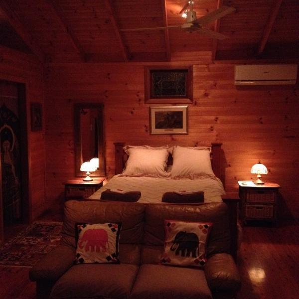 main bedroom + en suite