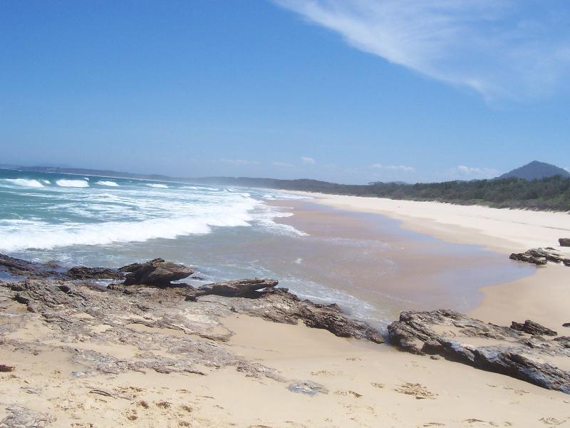 nearby wild beach