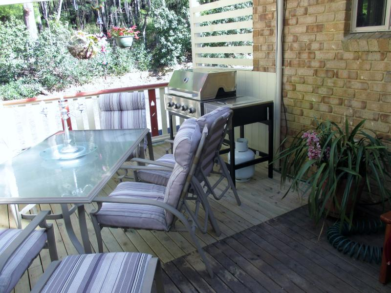 under-cover bbq area