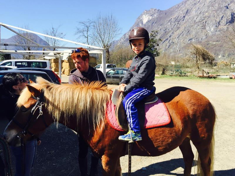 Horse Riding in nearby Carlazzo