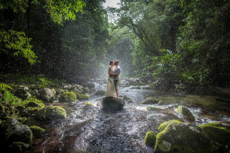 A luxury private Rainforest Experience where love is all you need