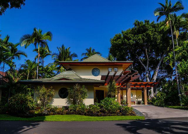 Alii Point - Luxury Villa in Private Oceanfront Community, vacation rental in Island of Hawaii