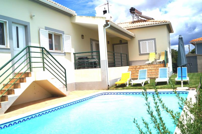 Rear house and pool