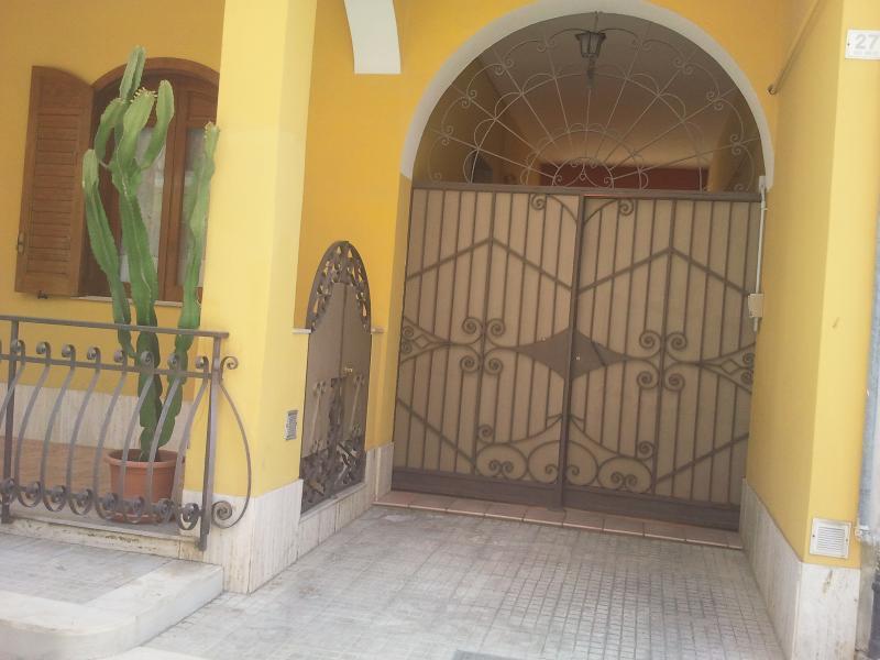 ingresso portico