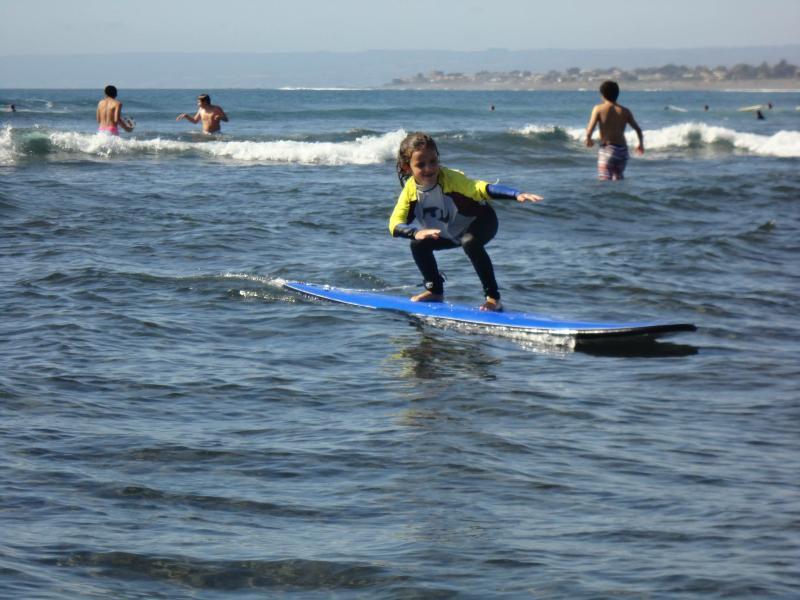 la nieta surfista