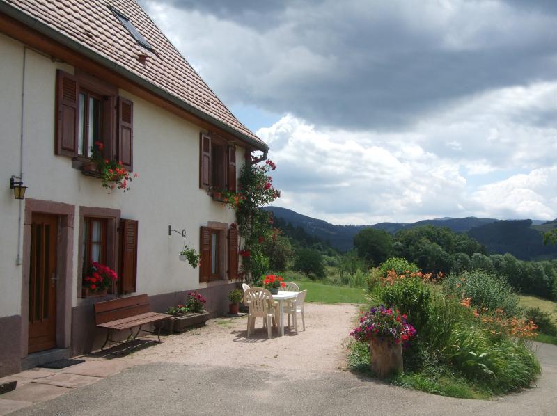 Gîte rural sur le Mont au coeur du pays Welche, holiday rental in Aubure