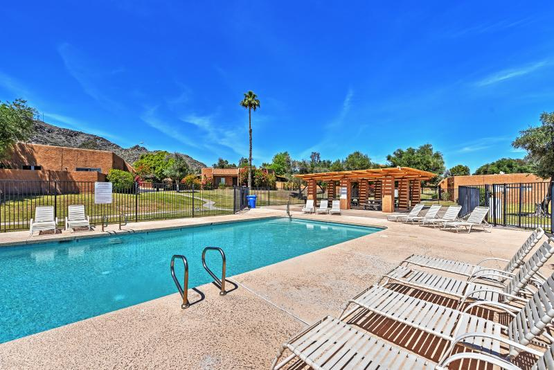 You'll never want to leave this quaint Phoenix vacation rental condo!