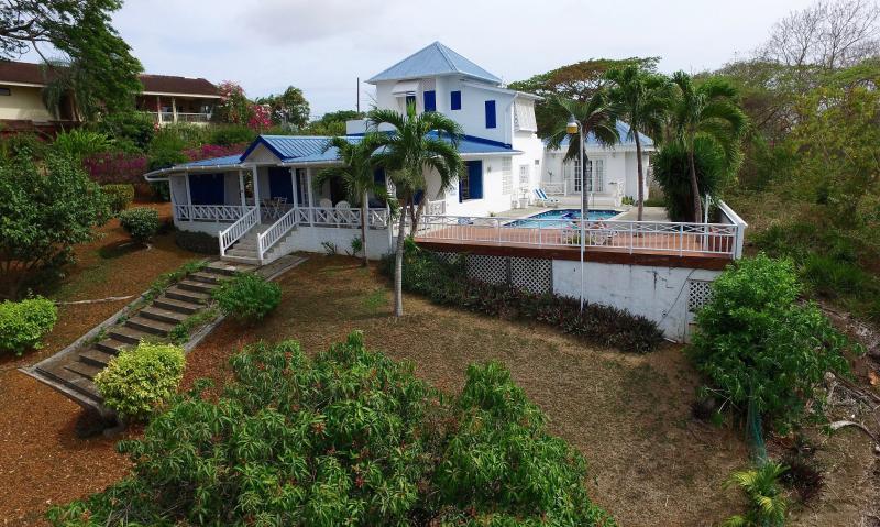 Villa from a Drone