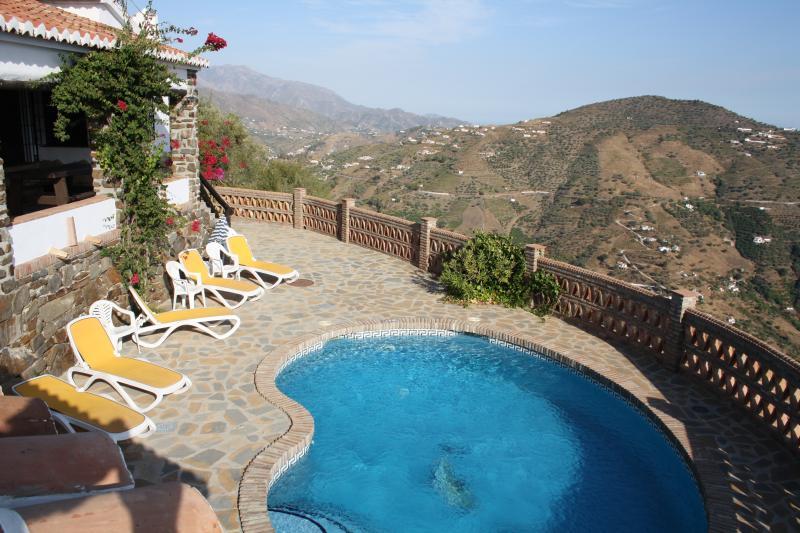 Finca Durillo con piscina privada, vacation rental in Competa