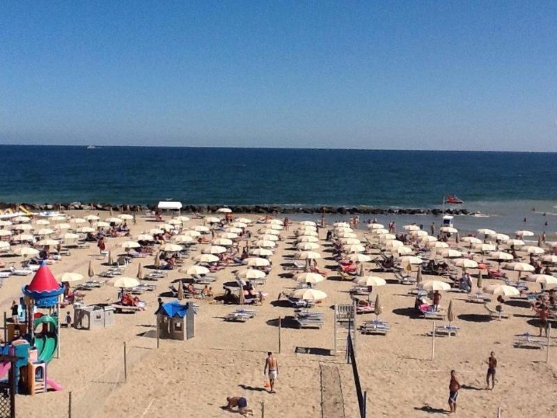 Vista della spiaggia dal residence