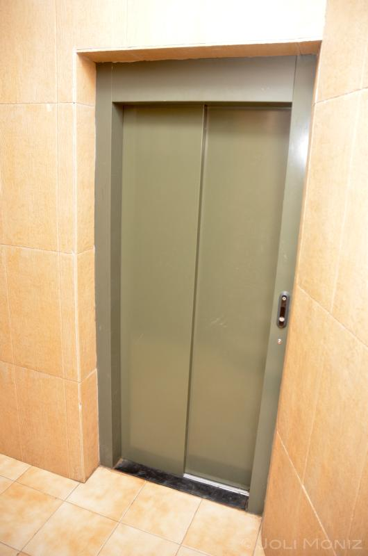 Elevator!  Most people won't need this as the apartment is on the 1st floor.