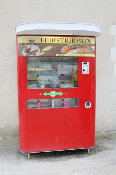 For a euro you can have a loaf of bread. Just a two minute walk from the house.