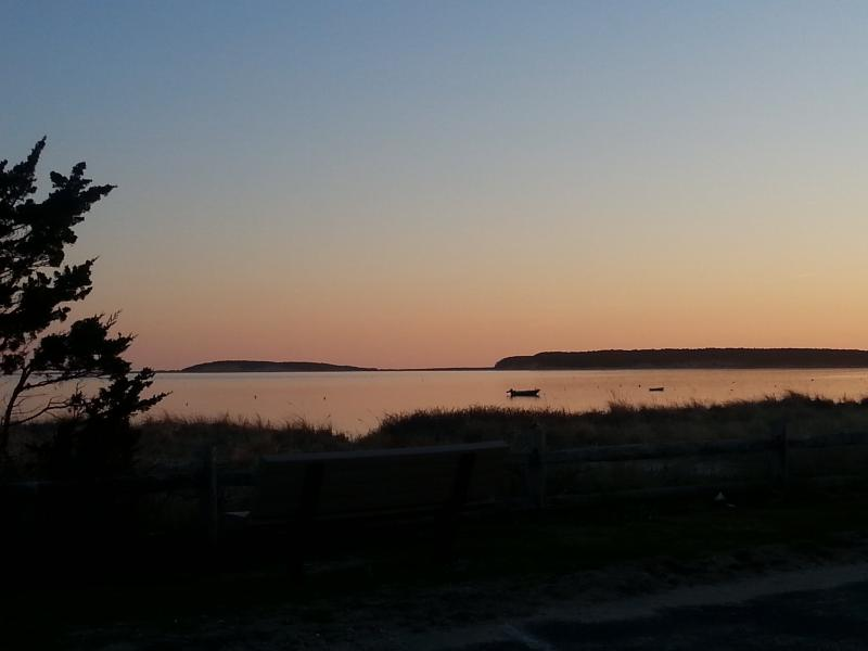 Sunset over Wellfleet Harbor