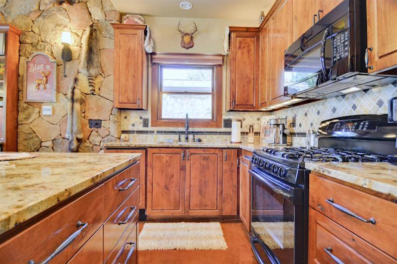 The kitchen is complete with all appliances and dishwasher!