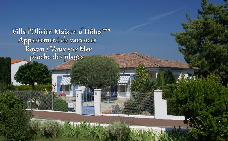 Villa l'Olivier, Maison d'Hôtes de charme.  Gîte et chambre d'Hôtes***