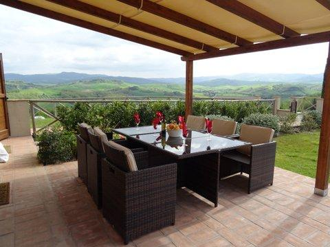 Bel Sogno Volterra-Pool! Great Views!, holiday rental in Volterra