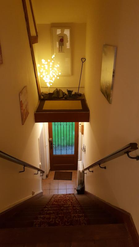 Stairwell lighting and feature